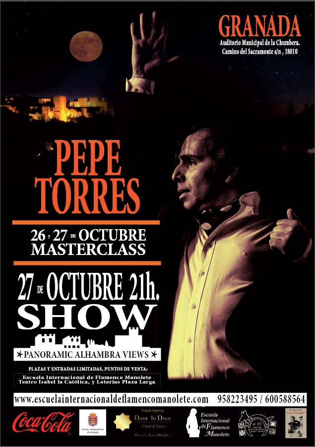 Cartel Pepe Torres