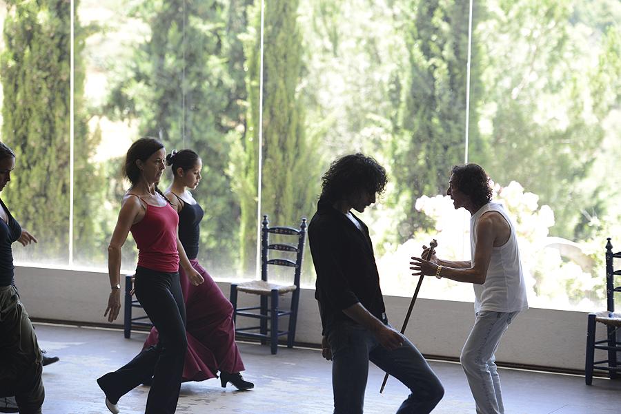 Clase de Flamenco de Manolete