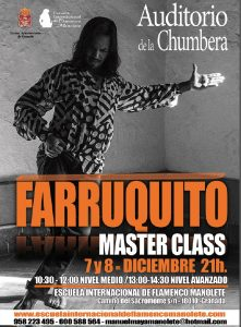 Masterclass de Farruquito en Granada
