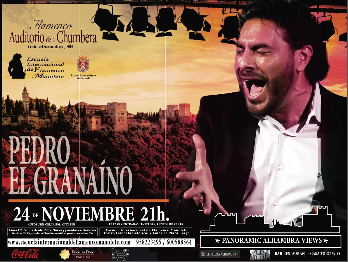 """Cartel Pedro """"el Granaino"""""""
