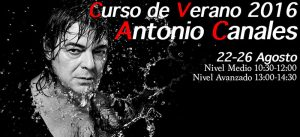 Curso de flamenco con Antonio Canales