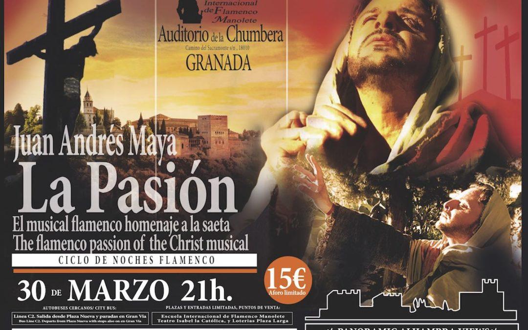 La Pasión de Cristo de Juan Andrés Maya