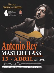 masterclass antonio rey 13 abril