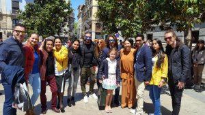 El día de la Cruz en Granada 1