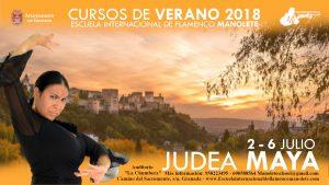 judea cursos de flamenco de verano en Granada