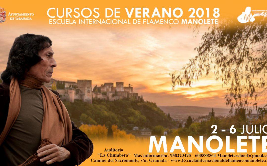 Curso de Verano 2018: Manolete y Judea Maya