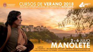 manolete cursos de flamenco de verano en Granada