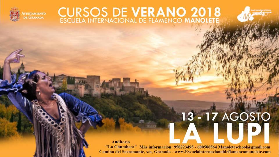Curso de verano 2018 de La Lupi
