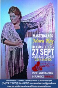 Masterclass Mara Rey