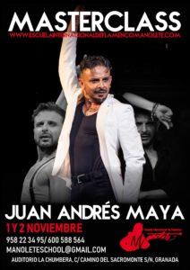 Juan Andrés Masterclass