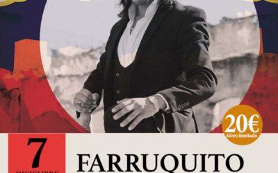 """Farruquito"" 7 de diciembre en Granada"