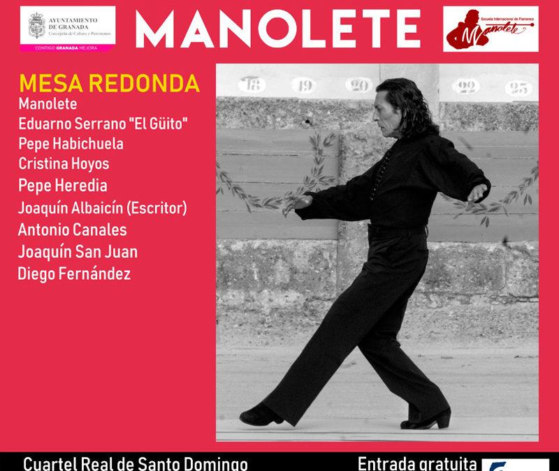 Mesa Redonda Manolete