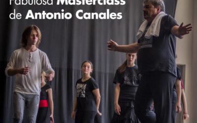 Fabulosa masterclass con Antonio Canales