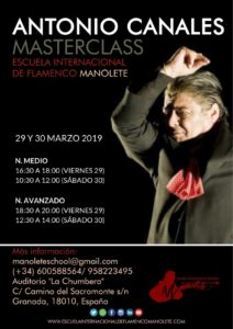 Antonio Canales Masterclass