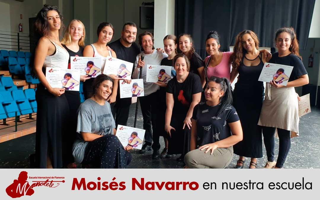 Moisés Navarro en nuestra escuela