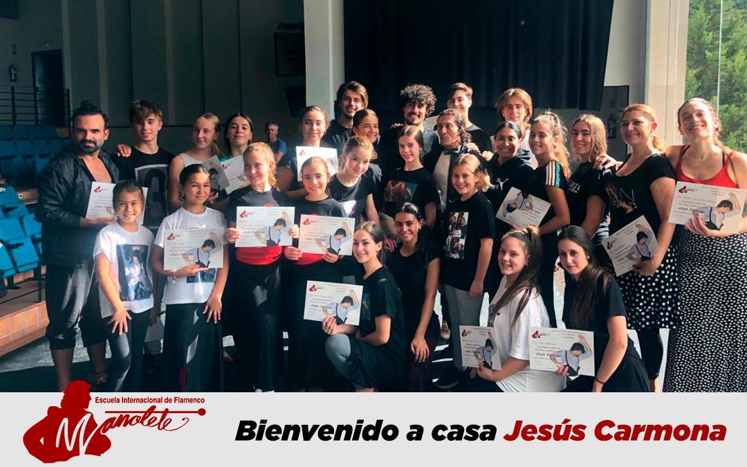 Bienvenido a casa Jesús Carmona