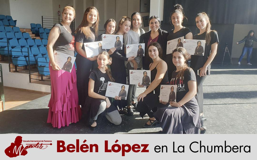 Belén López en La Chumbera